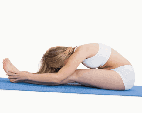 Seated Forward Bend- 8 Powerful Yoga Poses for Burning Belly Fat
