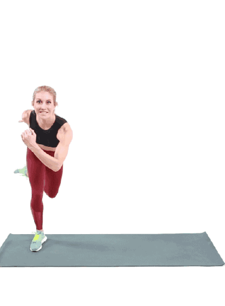 Skater Hops- Glutes Exercise at Home