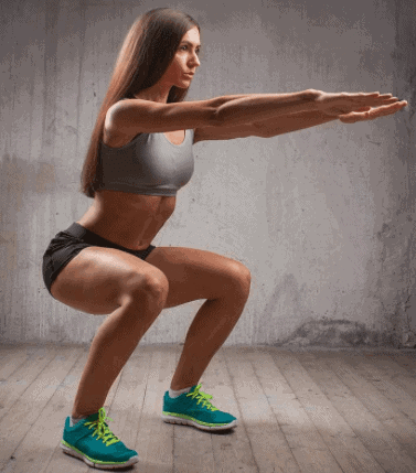 Squats- 10 Best Fat Burning Workouts for Quick Weight Loss