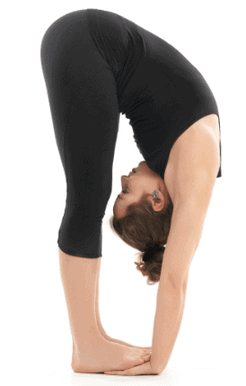 Standing Forward Bend-Powerful Yoga Poses To Burn Tummy Fat
