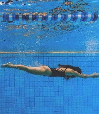 Swimming-Lose Weight Fast with Exercises