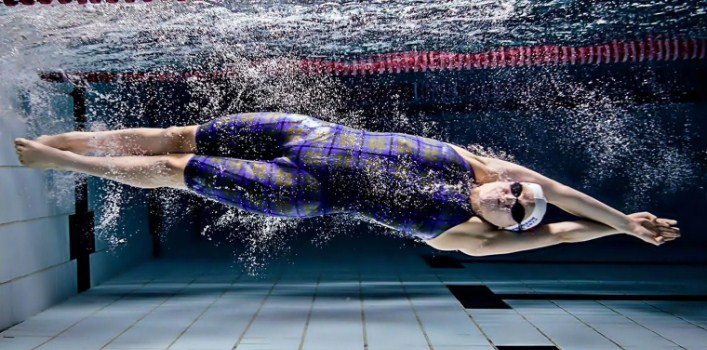 Swimming aids fat reduction
