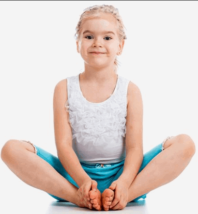 The Butterfly Pose- Super-Easy Poses For Children