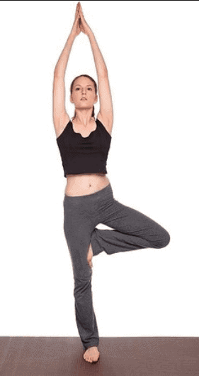 Tree Pose- Best Yoga Poses for Beginners
