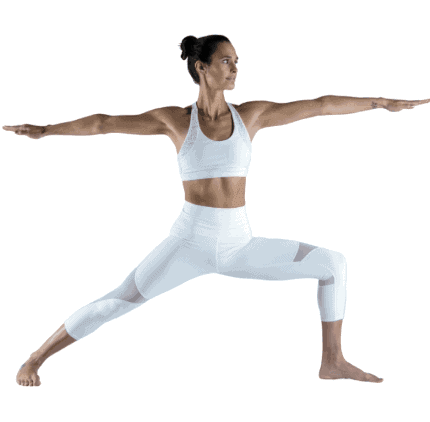 Warrior Pose- Yoga Poses For Firm Breasts