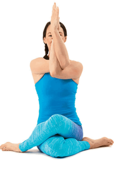 Yoga- How to lose Stress Weight