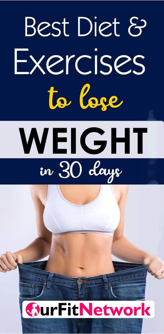 If you are looking to lose weight, here are the best diet plans and exercises that answer the question of how to lose weight fast!
