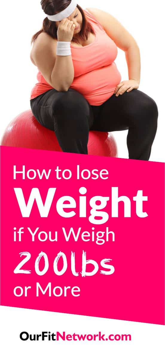 For women who have hit the 200lbs mark, it is usually hard to lose weight. However, you will find that when followed, the tips in this post are effective for loosing weight and are an effective answer to the question of how to lose weight if you're over 200Lbs.