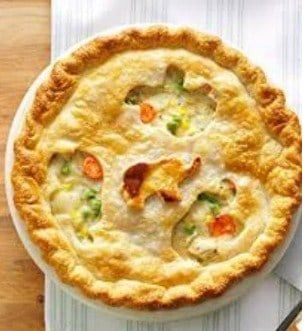 Chicken Pot Pie to Shed Some Pounds.