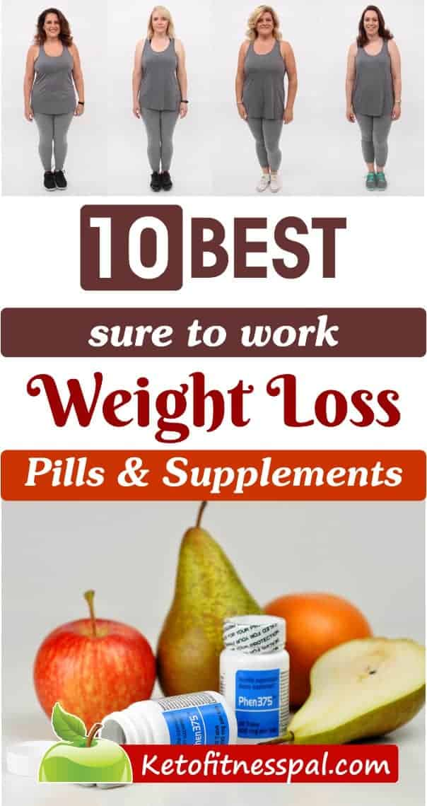 Losing weight is not by miracle but by efforts and hardwork. Looking for pills to lose weight fast? Check out these weight loss pills and supplements that work efficiently. #weightloss #weightlosspills #nutrition