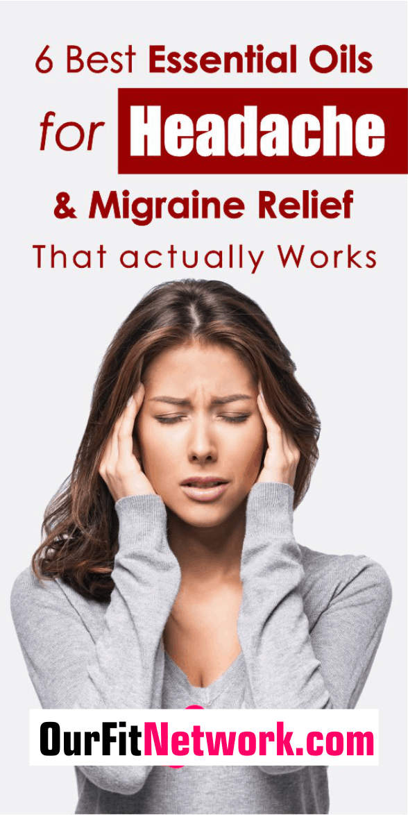 These 6 best essential oils for headache and migraine relief are a potent alternative to using conventional treatments to get rid of headaches. Check them out here!