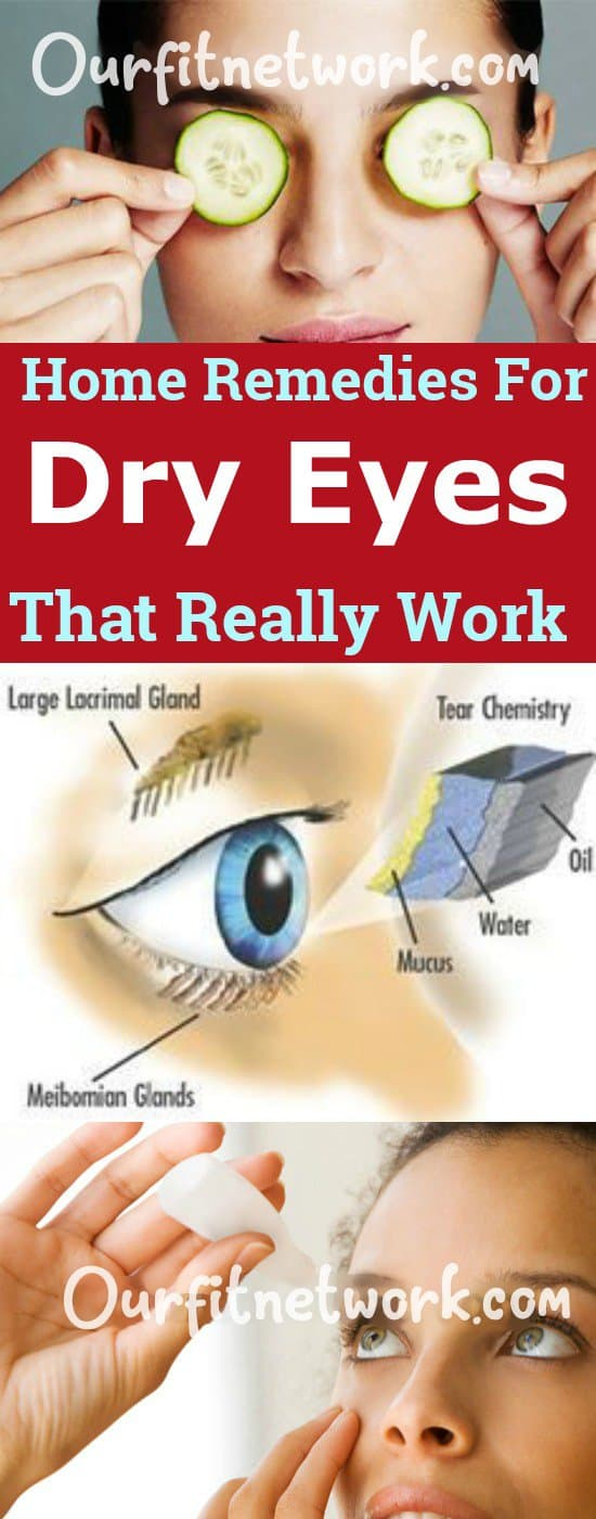 7 Effective Home Remedies For Dry Eyes That Work