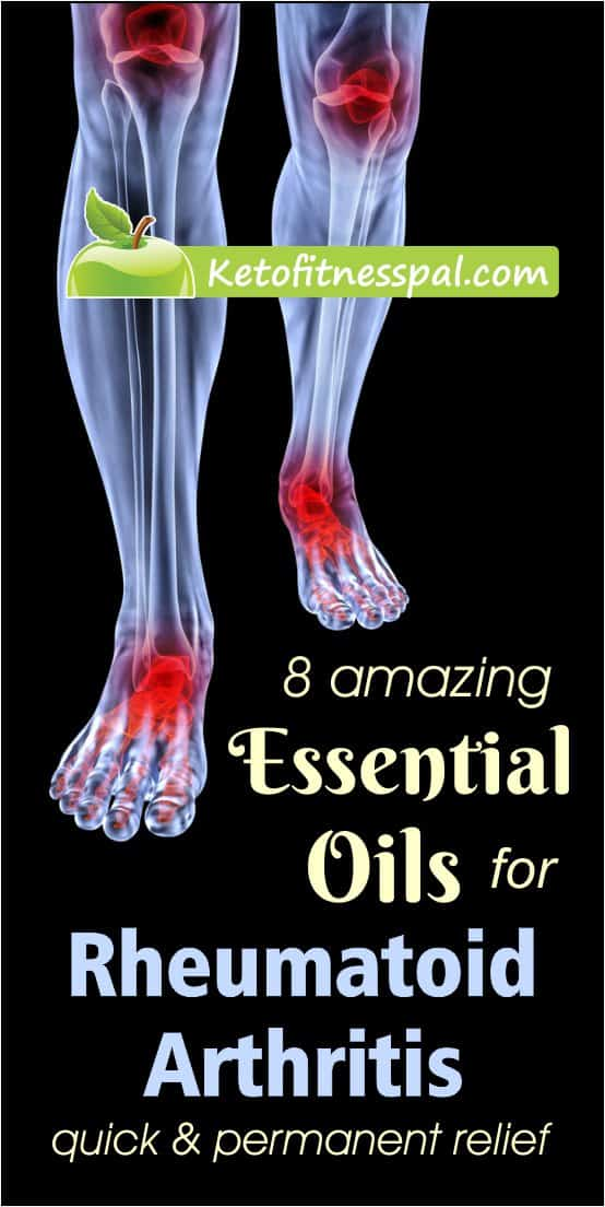 When used with medicine, essential oils for rheumatoid arthritis has been proven to provide fast relief from every kind of joint pain. Check this post for how to use them!