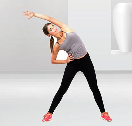 Bending Side To Side to Get Rid of Stomach Fat
