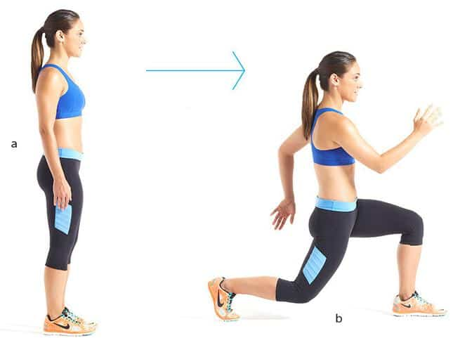 Clockwork Lunge- How to Get Rid of Cellulite on Fast in 7 Days