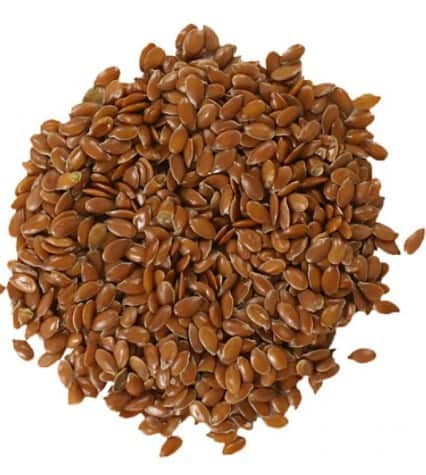 Flaxseed- 10 Home Remedies For Constipation That Works Fast