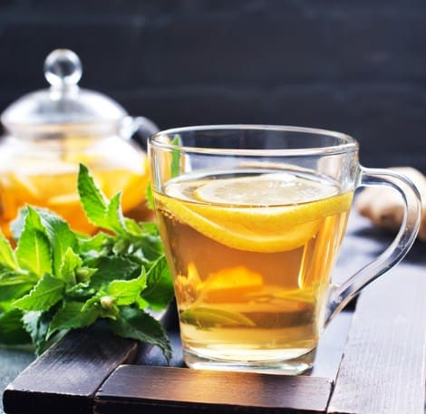 Ginger And Mint Tea- 10 Home Remedies For Constipation That Works Fast