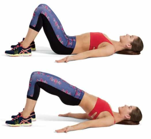 Hip Thrust for lowering belly fat at home