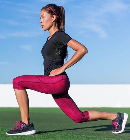 Lunges- How to Reduce of Hip Fat