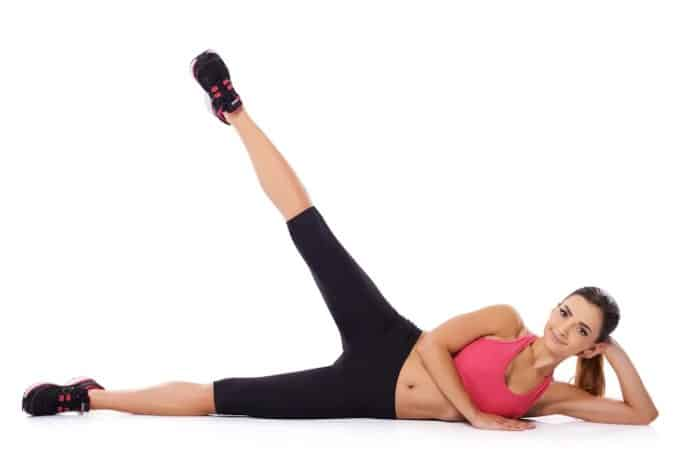 Lying Leg Raise- 10 best exercises for ladies