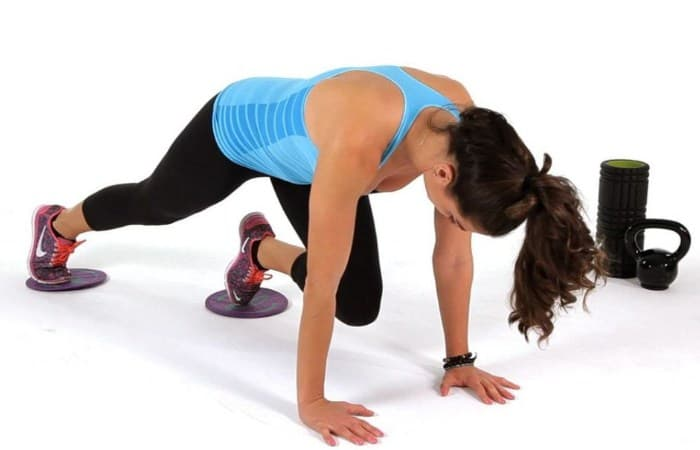Mountain Climbers- 10 Best Exercises to Get Rid of Muffin Top & Side Fat Really Fast.