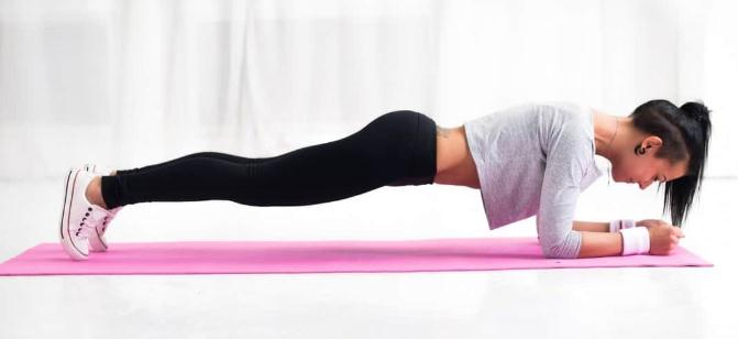 Plank- Best Workouts to Get Rid of Protruding Lower Belly
