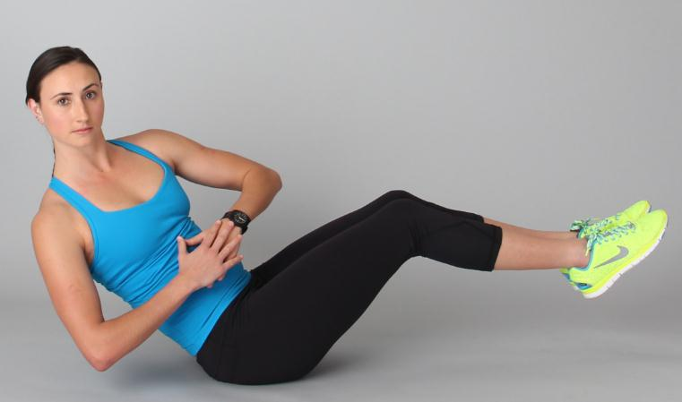 Russian Twist for Flat Belly and Sexy Abdominals