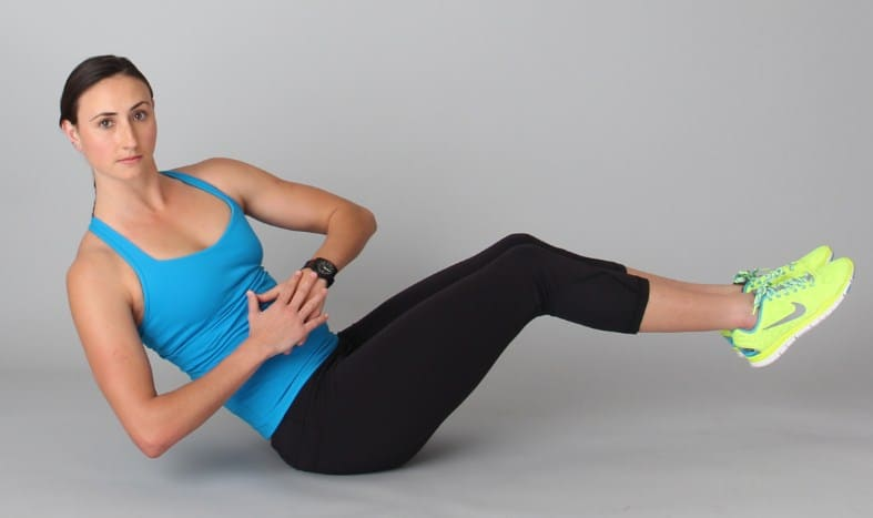 Russian Twists- 10 Best Exercises to Get Rid of Muffin Top & Side Fat Really Fast.