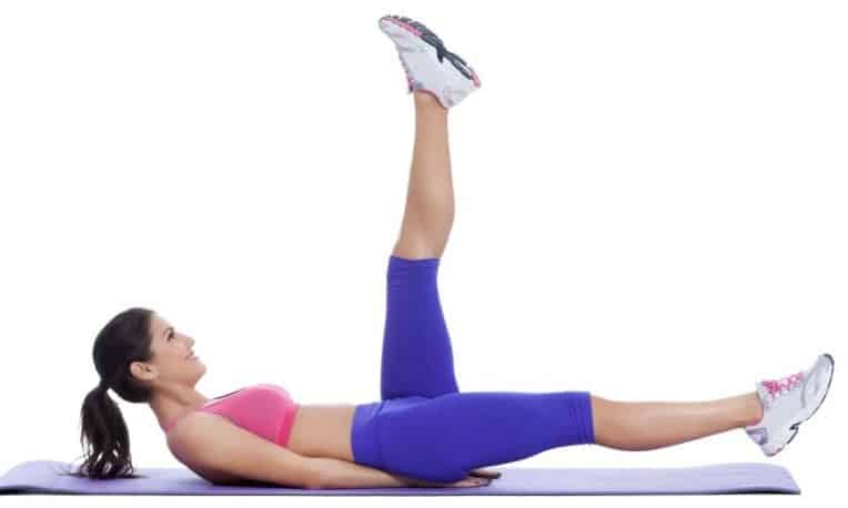 Scissors Cut- Perfect move for achieving flat belly goals