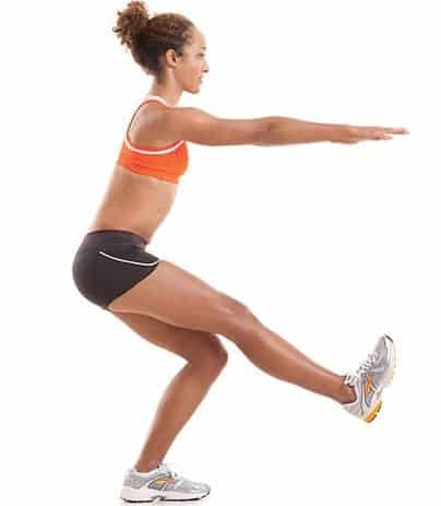 Single Leg Squats - Best Exercises for fast Knee Pain relief