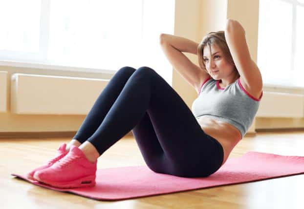 Sit-ups to Get Rid of Stomach Fat