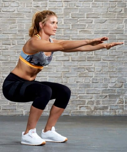 Squats- How to get Rid of Hip Fat