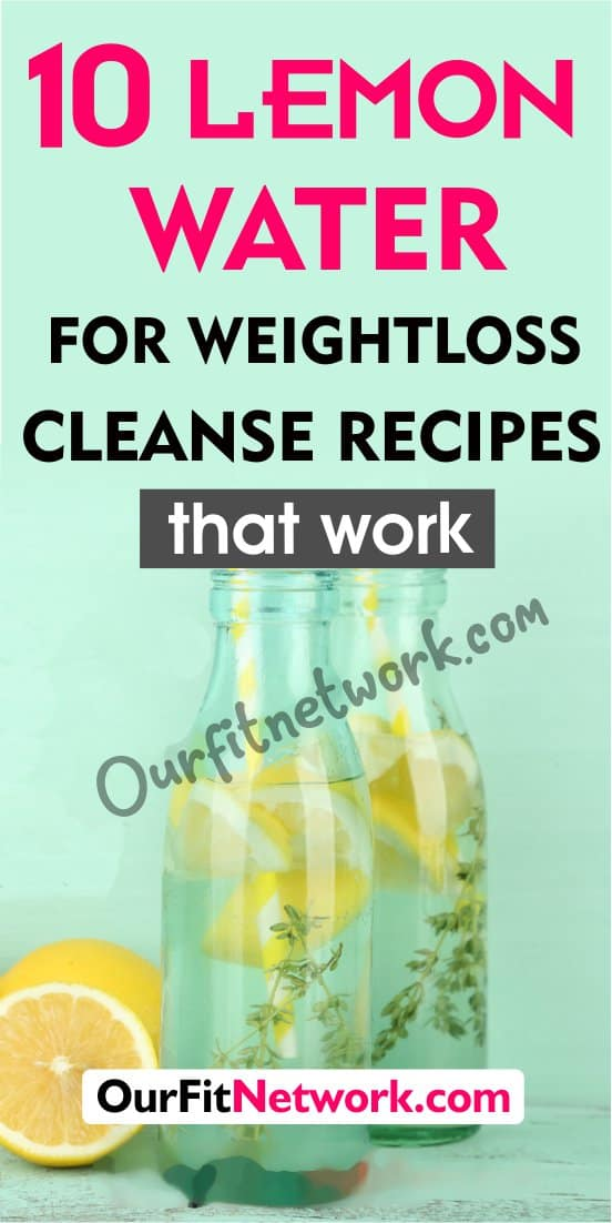 Achieve your desired weight now with these easy to make lemon water recipes for weight loss. It also has a number of health benefits including detoxification, cleansing, and improving digestion.