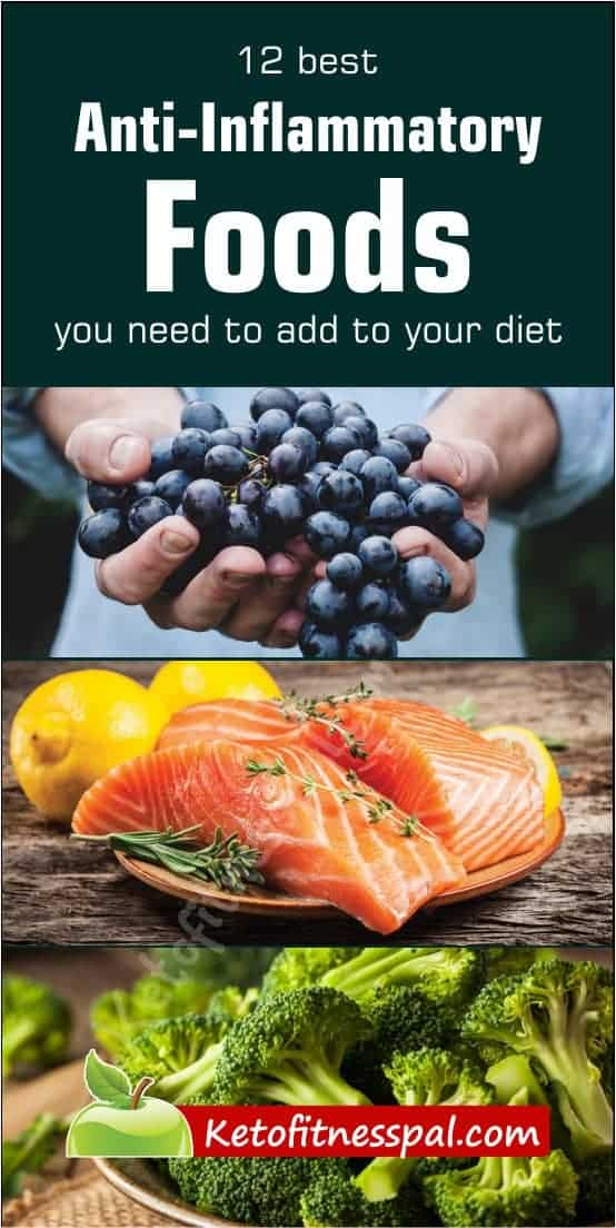 According to research, certain foods can help to relieve inflammation fast! Here are 12 of these foods that you should add to your diet.