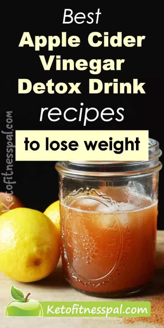 Looking for organic drinks to boost weight loss easily? Here are apple cider vinegar detox drink recipes that works like magic. Check them out.
