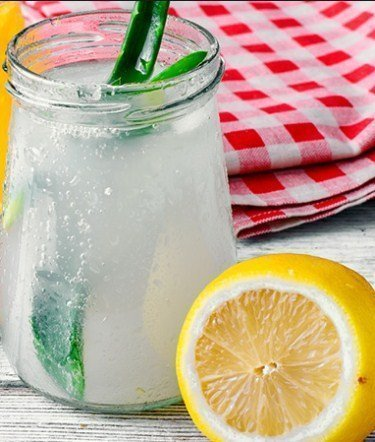 Aloe Detox Water- Water Detox Recipes for Fast Weight Loss