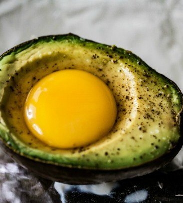 Avocado Toad in the Hole for Fat Burning