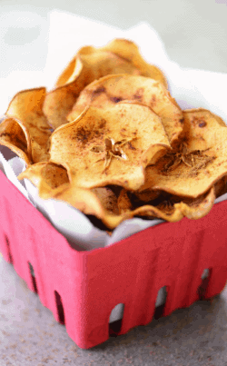 Baked-Apple-Chips is a Perfect one to lose fat