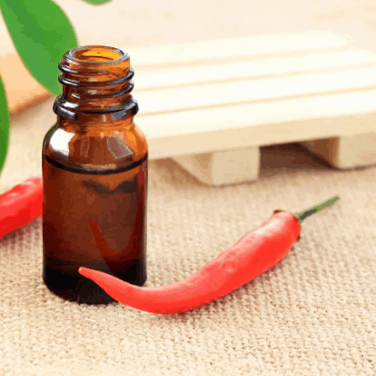 Cayenne Pepper oil to relieve joint pain