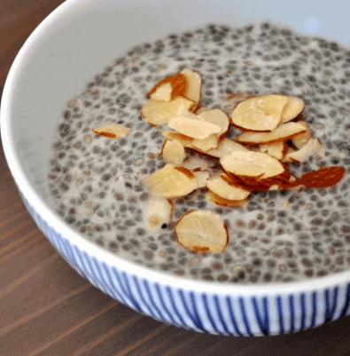 Chia Seed Pudding to burn fat