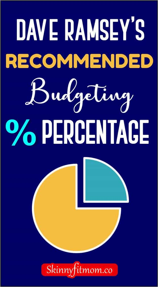 One of the best budgeting percentages you can useas a guide is the Dave Ramsey's budgeting percentages, it's easy to understand and use. Check out this post for how it works.