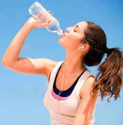 Drink Water- How To Lose Inner Thigh Fat