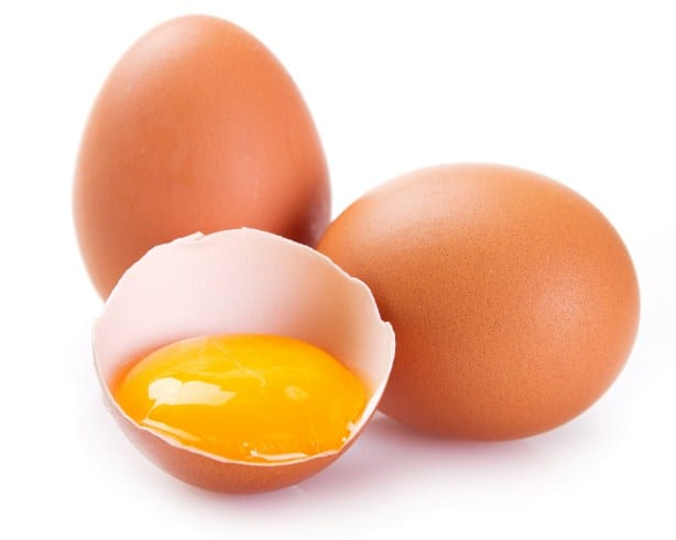 Eggs -Vegetables that help with inflammation