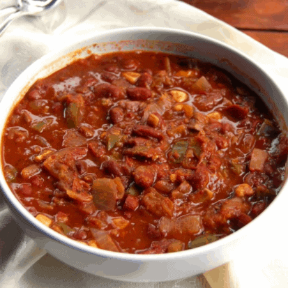 Fat-Free Crock Pot Chili for Fat Burning