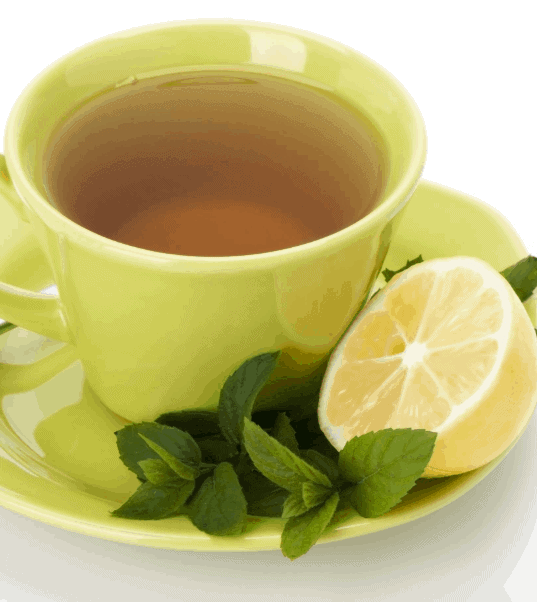 Green Tea and Lemon- Homemade Weight Loss Detox Drinks