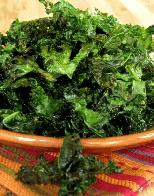 Kale Chips- Kale Diet For Weight Loss