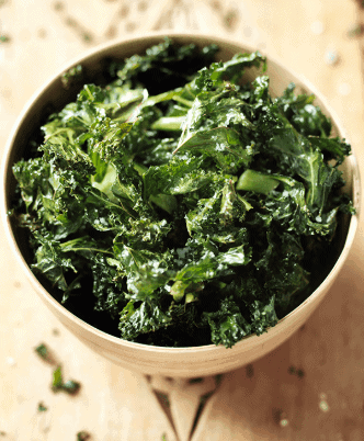 Kale Chips fat burning snacks