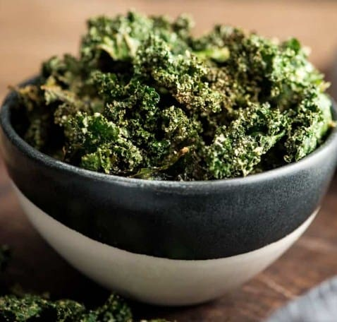 Kale chips-Perfect snack to burn fat
