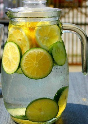 Lemon Lime Water- Best Lemon Water for Weight Loss