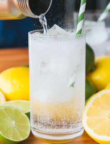 Lemon and Lime Water - Best Infused water for weight loss recipe